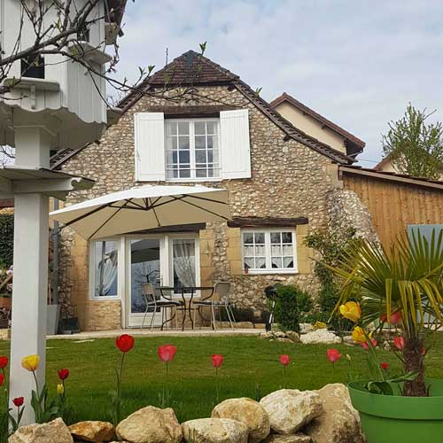gite for 2 people near Sarlat with terrace
